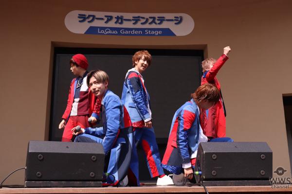 """CUBERS、『メジャーボーイ』発売記念イベントに、振り付けを担当した夏まゆみがサプライズ登場!全員で豪華""""聖火ダンス""""を披露!"""