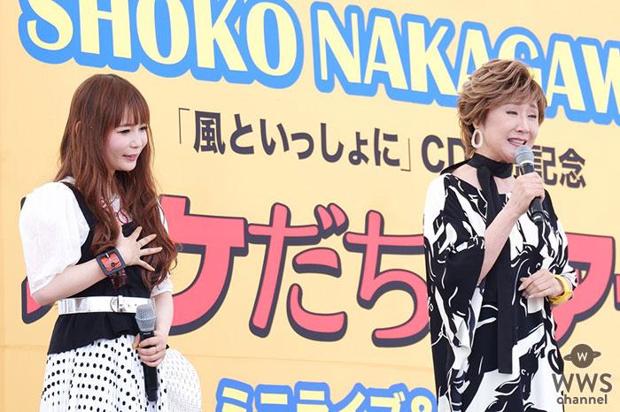 小林幸子&中川翔子、小林の地元・新潟で『風といっしょに』凱旋初披露!しょこたん思わず大号泣!