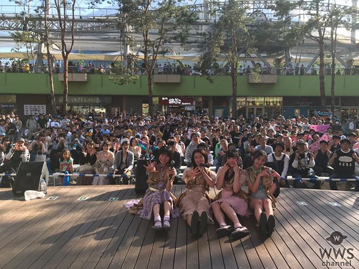 東京女子流・非公式で世界記録達成!9周年を迎えるデビュー日にフリーライブで新曲「光るよ」17回連続歌唱!!