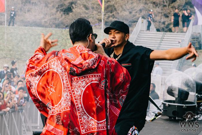 AK-69「EDC JAPAN 2019」にて多数の客演陣と共にHIP HOPの圧倒的パワーを見せつける!