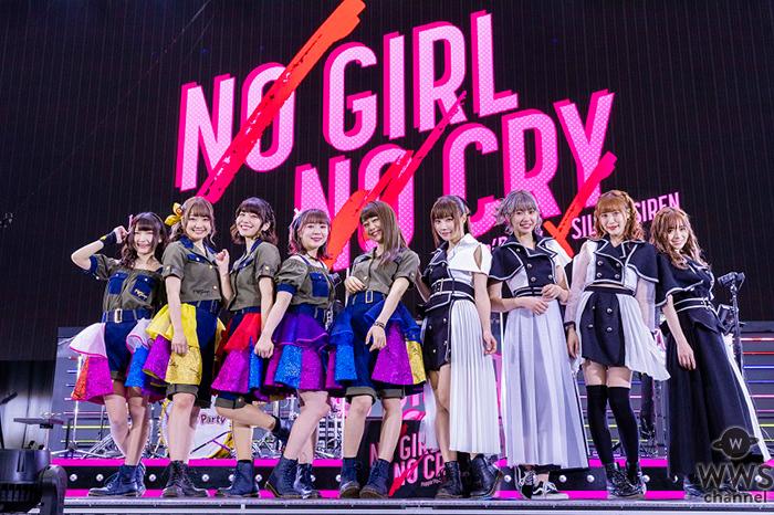 SILENT SIREN×Poppin'Partyによる対バンライブ「NO GIRL NO CRY」、メットライフドームで2日間述べ3万人を集めて開催!