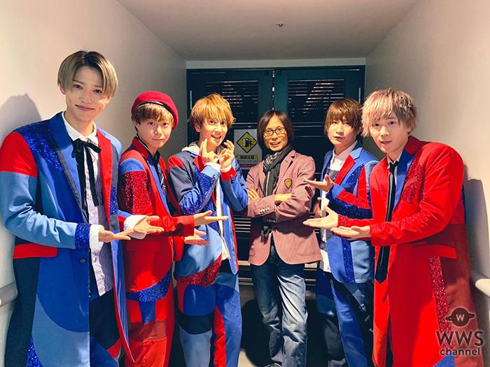 5人組ボーイズユニットCUBERS、メジャーデビューシングル発売記念イベントにつんく♂がサプライズで登場!
