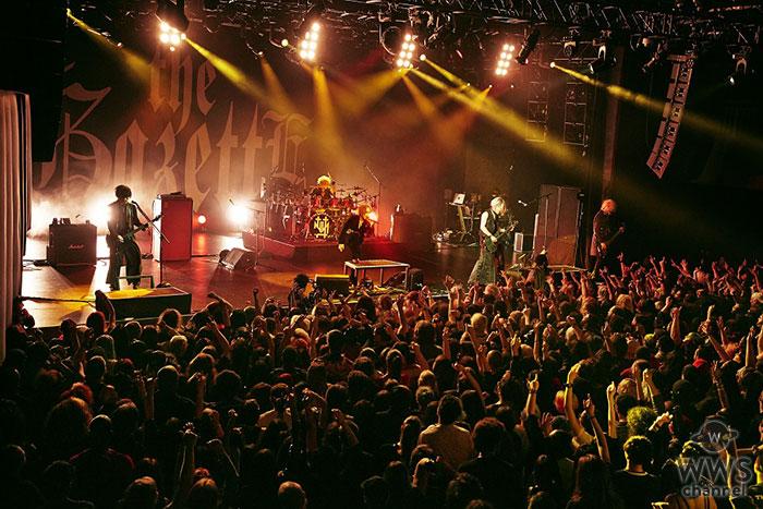 the GazettE、ロサンゼルスを皮切りに全世界12カ国(地域)16公演に及ぶワールドツアーが開幕!