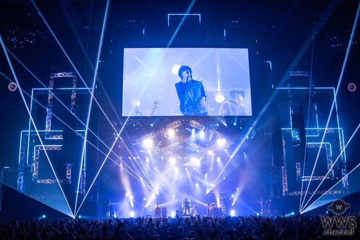 【ライブレポート】フレデリックが初日のSTAR STAGEに登場!「40分1本勝負!」と個性全開のサウンドでオーディエンスに勝負を挑む。<VIVA LA ROCK 2019>