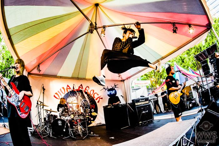 【ライブレポート】マキシマム ザ ホルモン2号店が「VIVA LA ROCK」待望の初ステージへ。狂おしいほどのステージングに会場熱狂!<VIVA LA ROCK 2019>