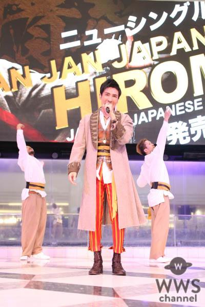 郷ひろみが新曲熱唱!アイドルの聖地で「ジャパーン!」なミニライブを開催!