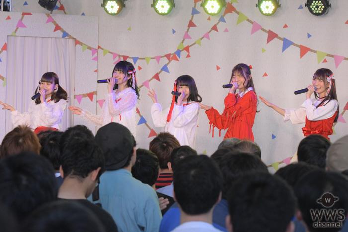26時のマスカレイド、「mini TIF vol.56」のステージを仮面舞踏会へと変えるパフォーマンス!