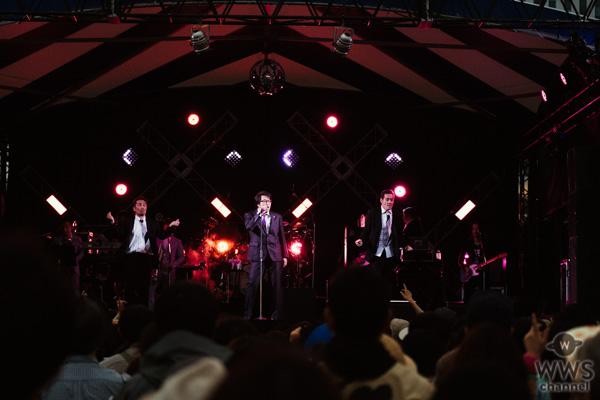 【ライブレポート】岡村靖幸が野外フェス「人間交差点2019」に登場。自身の魅力を出し尽くすかのような怒涛の8曲を展開