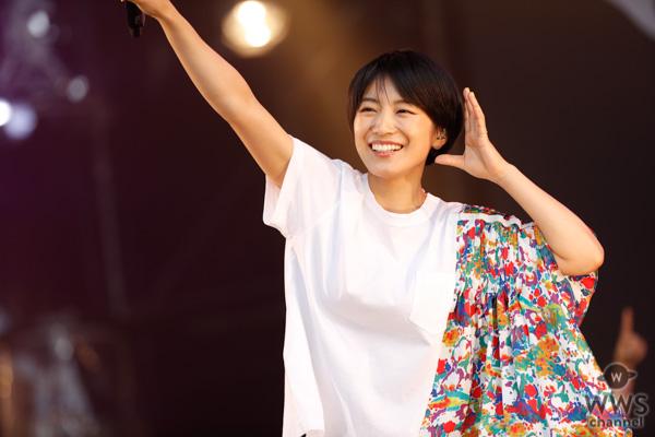 【ライブレポート】miwaが夕暮れのLOTUS STAGEに登場。バラードを封印し、とことんアゲアゲの曲で連休最終日を盛り上げる!<JAPAN JAM 2019>