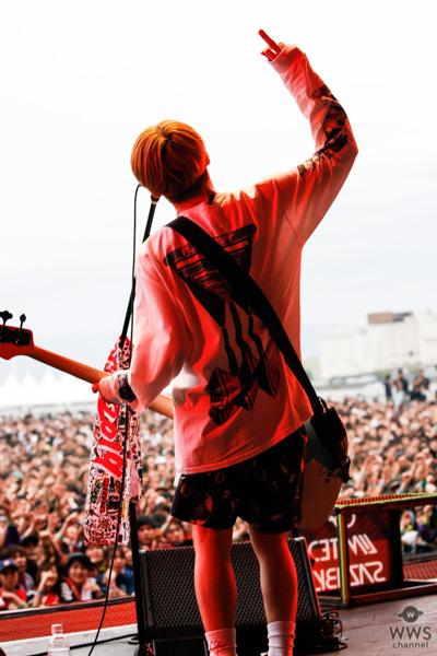 【写真特集】04 Limited Sazabys(フォーリミ)が「メトロック 2019」大阪公演でライブパフォーマンスを披露。