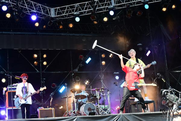 """【ライブレポート】KEYTALKが一足先に""""夏フェス""""を体感!「メトロック 2019」のWINDMILL FIELDに登場!"""