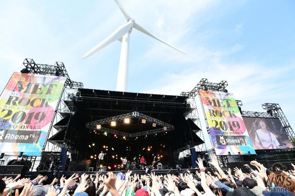 【ライブレポート】キュウソネコカミが「メトロック 2019」に参戦。会場中から愛ある声援が飛びまくる