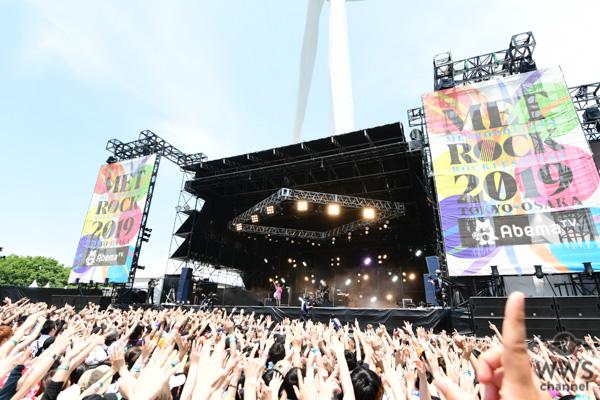 【ライブレポート】ヤバイTシャツ屋さんが「メトロック 2019」の2日目にトップバッターで参戦。朝一番から鉄板ソングの応酬でオーディエンスの目を覚まさせる