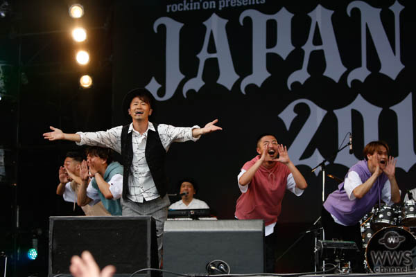 【ライブレポート】ナオト・インティライミ、晴天の下でお祭り騒ぎ!SUNSET STAGEに初登場!<JAPAN JAM 2019>
