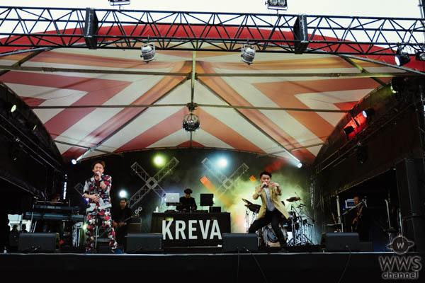 【ライブレポート】KREVAが野外フェス「人間交差点2019」にが登場。「俺の好きなタイプのフェス」でベスト的セトリを展開。
