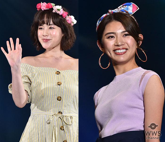 筧美和子、坪井ミサトらプラチナムプロダクション所属モデルがTSC「charMi」ステージに登場!