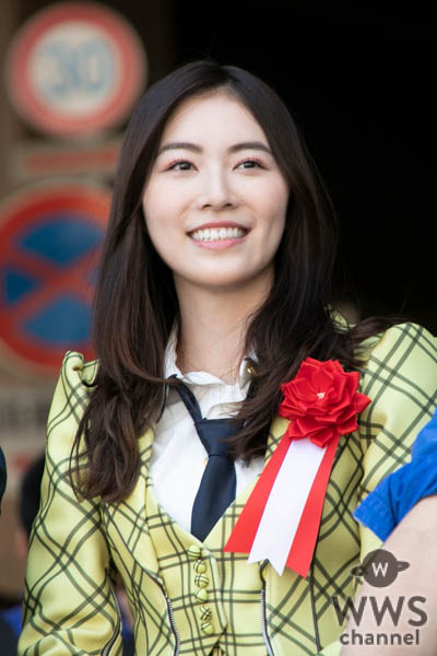 SKE48・松井珠理奈、総選挙公約実現!愛知県の大村県知事、河村市長と共に名古屋市内をパレード!