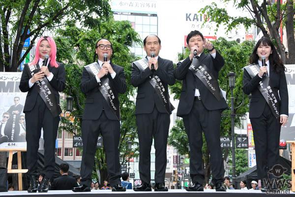 吉本坂46、【MIBの日】 にMIB日本支部 初出勤!斎藤さん「エイリアンをすべてクリーンアップする!」