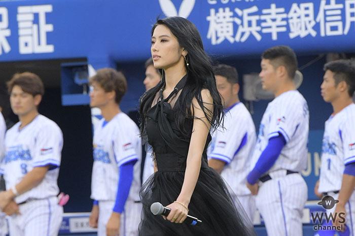 E-girls / Happiness・川本璃が国歌独唱で美声を届ける!