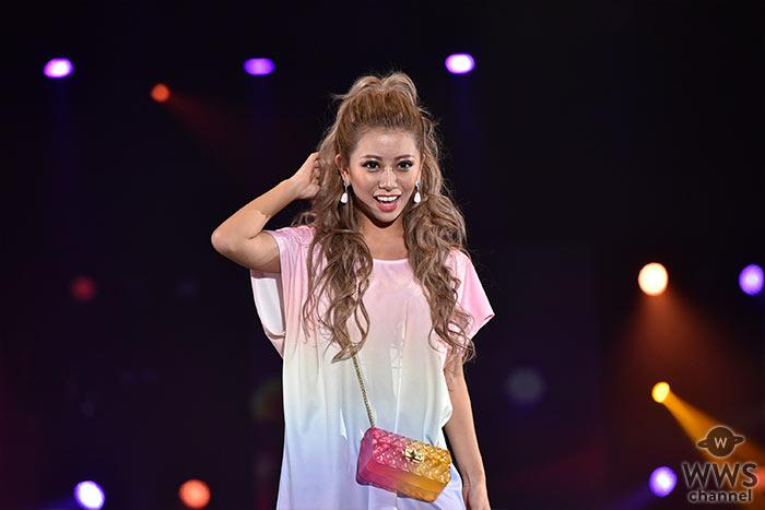 モデル・華がTSC「DaTuRa」ステージに登場!夏コーデを披露。