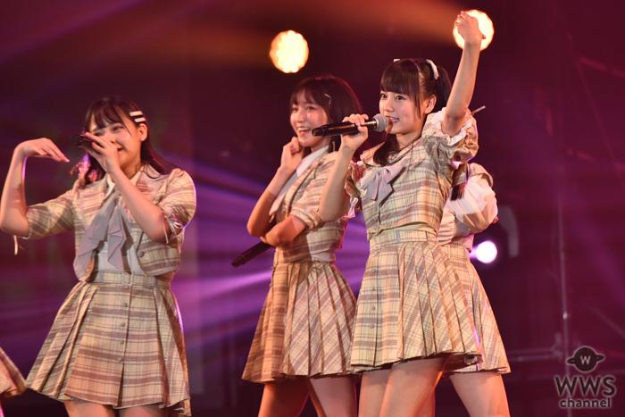 =LOVE(イコールラブ)がTSCのライブステージ登場に大盛況!!<東京ストリートコレクション>
