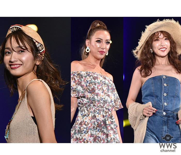 くみっきー、安井レイ、GENKINGらがTSCラストのランウェイ「SPIRAL GIRL」ステージに登場!