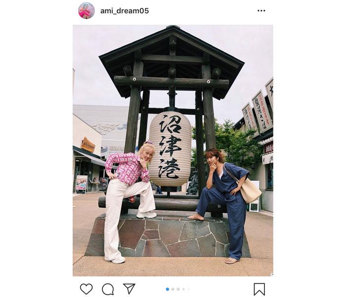 Dream Ami、Dream Ayaと沼津旅行ショット公開に地元ファンも歓喜!