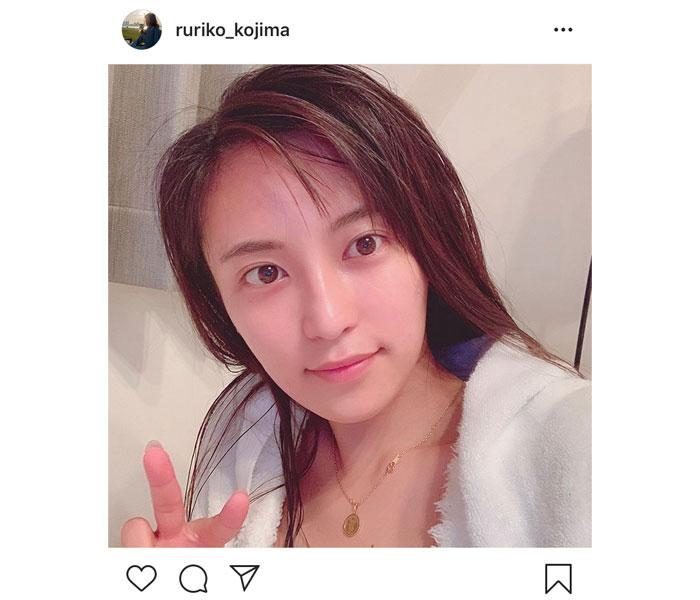 """小島瑠璃子が""""すっぴん""""カット公開にファン歓喜!「クールビューティー!」「大人っぽくて可愛い」"""