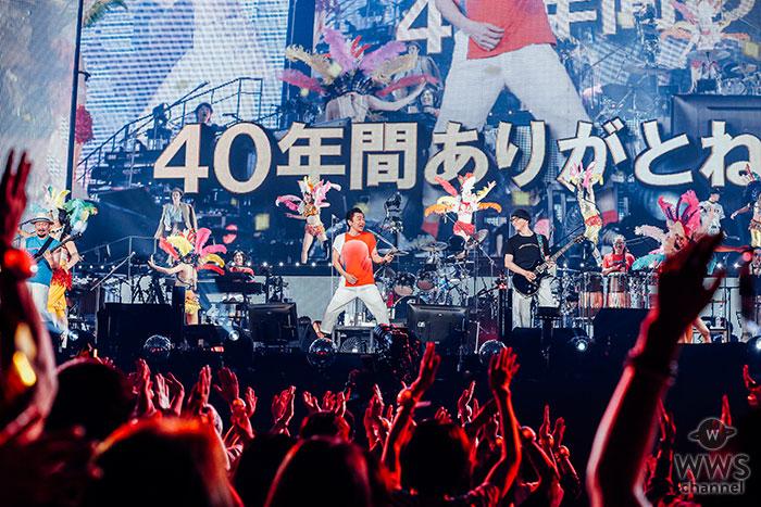 サザンオールスターズ、全国11箇所をめぐり55万人を動員した超巨大ツアーが東京ドーム最終公演にて終幕!