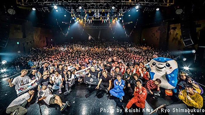 ORANGE RANGE主催「テレビズナイト019」の当日のイベント模様を収めたアフタームービー公開!スペースシャワーTVにて特番の放送も決定!!
