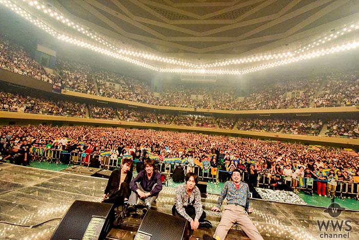 OKAMOTO'S、初の武道館ワンマン公演が大盛況のもとに終了!10周年イヤーを超満員の観客が祝福!