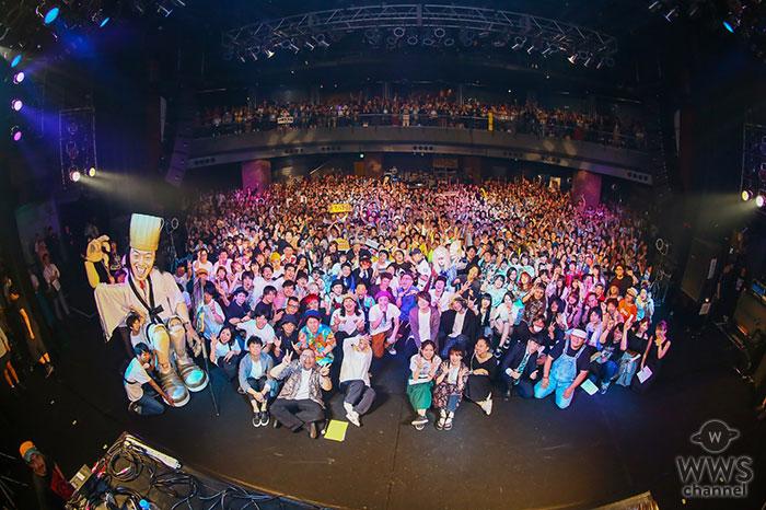 "DJやついいちろう(エレキコミック)主催 大型エンタメフェス""YATSUI FESTIVAL!2019"" 過去最大規模での開催を大成功で終了!"