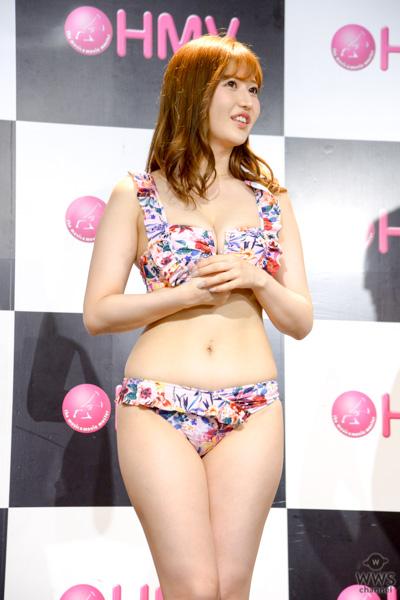 藤田恵名、月城まゆ、久松かおりが「グラビアプレス」創刊会見に登場!