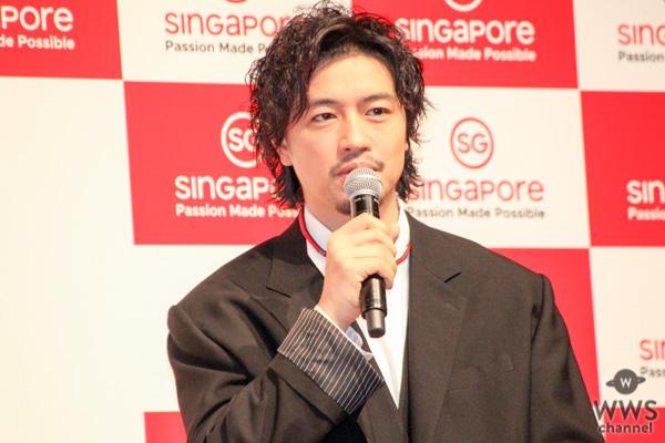 斎藤工がシンガポールのソウルフードを実食!「シンガポールは第2の故郷ですね」と語る!