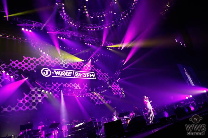 【ライブレポート】JUJU、『やさしさで溢れるように』を披露!J-WAVE LIVE 20th ANNIVERSARY EDITION、2日目トップバッターで登場!<J-WAVE LIVE 2019>