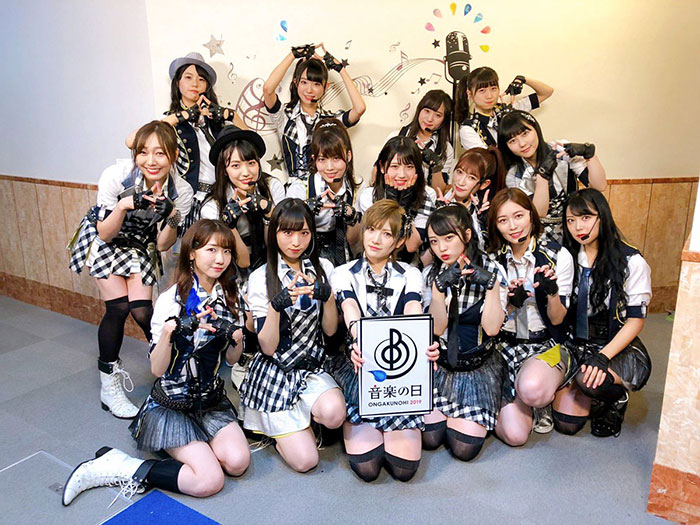 AKB48が『RIVER』を熱唱!向井地美音、総監督の大役を受け継ぐ<音楽の日 2019>