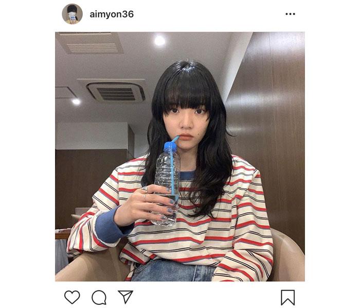 あいみょんの水飲み姿が可愛いと話題に!木村カエラも「かわゆす。お嬢。」
