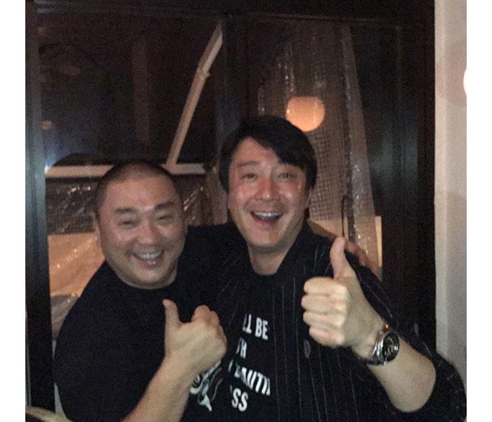 極楽とんぼ・山本圭壱が加藤浩次との写真を公開「笑ってたいのよ。ずっと」