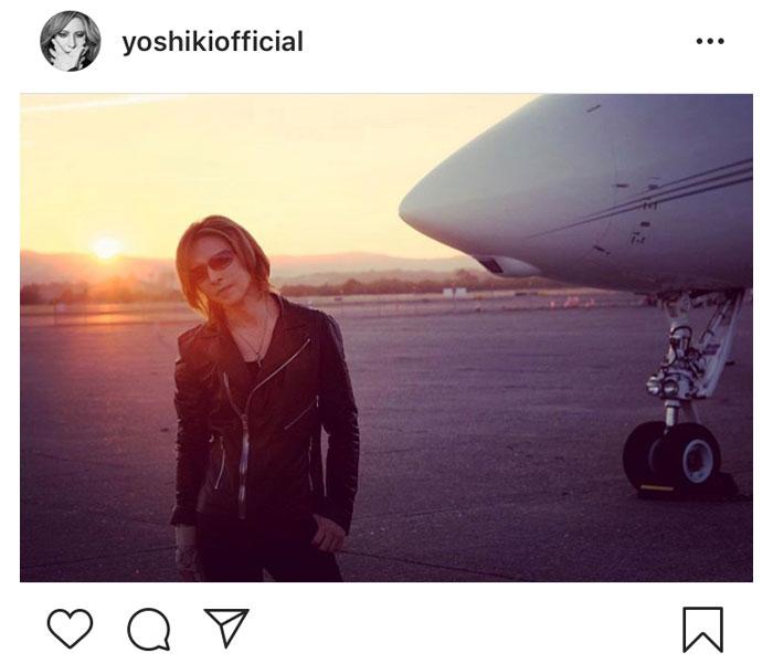 X JAPAN YOSHIKI、日本でのディナーショーを待つファンへ「もうすぐ会えますね」