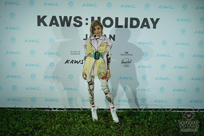 KAWS:HOLIDAY JAPAN Ceremonial Camp Day開催!ローラや水原希子ら豪華ゲストも参加し大興奮!