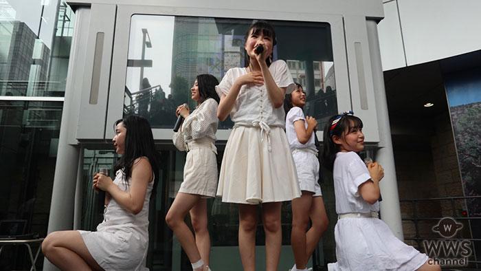 テーマパークガール、名古屋・SUNSHINE SAKAEでメジャーデビュー作品リリース記念イベントを敢行し、来場の観客たちが熱狂!