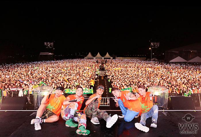 DOBERMAN INFINITY主催の野外フェス「D.Island 2019」開催!横浜・山下埠頭で1万人が熱狂!