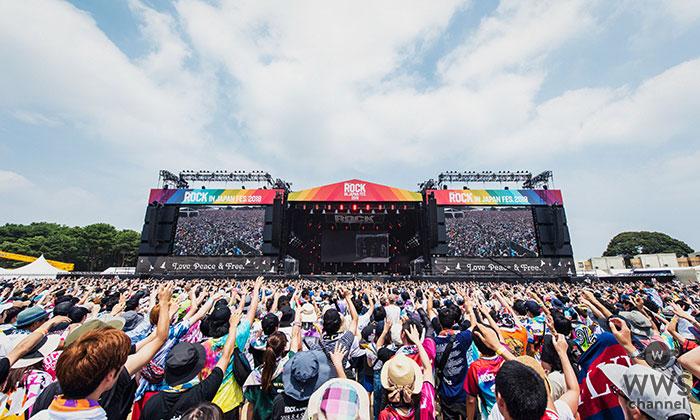 「ROCK IN JAPAN FESTIVAL 2019」がWOWOWで放送決定!