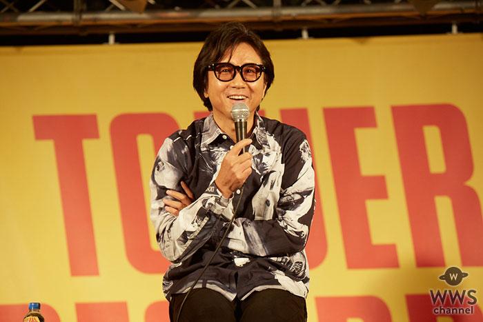藤井フミヤ、3年ぶりのアルバム・リリースを記念し渋谷でトークイベントに登場!