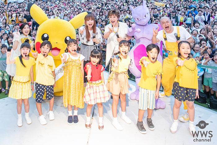 小林幸子&中川翔子、ラゾーナ川崎プラザで「風といっしょに」の大合唱!