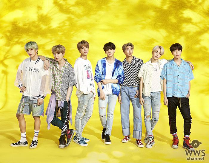 BTS、最新シングル「Lights/Boy With Luv」が初日売上46.7万枚で海外アーティスト最高記録!