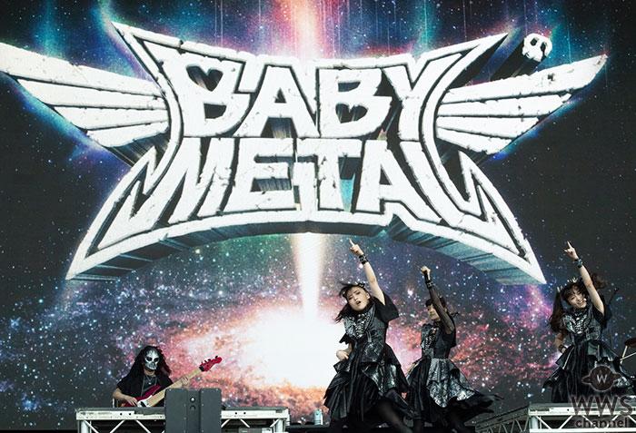 BABYMETAL、グラストンベリー初出演!&新曲「PA PA YA!!(feat. F.HERO)」ライブMVを公開!