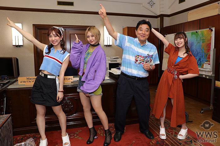 SKE48、河村たかし名古屋市長に表敬訪問!新曲のサビ部分のフリを一緒に踊る!