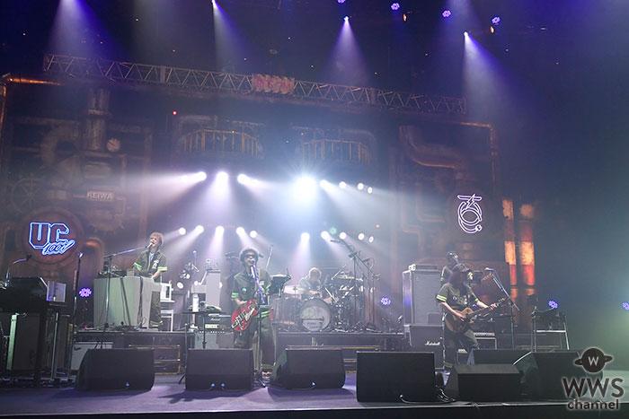 ユニコーン、武道館のステージで今年2作目のニューアルバム「UC100W」リリースを発表!