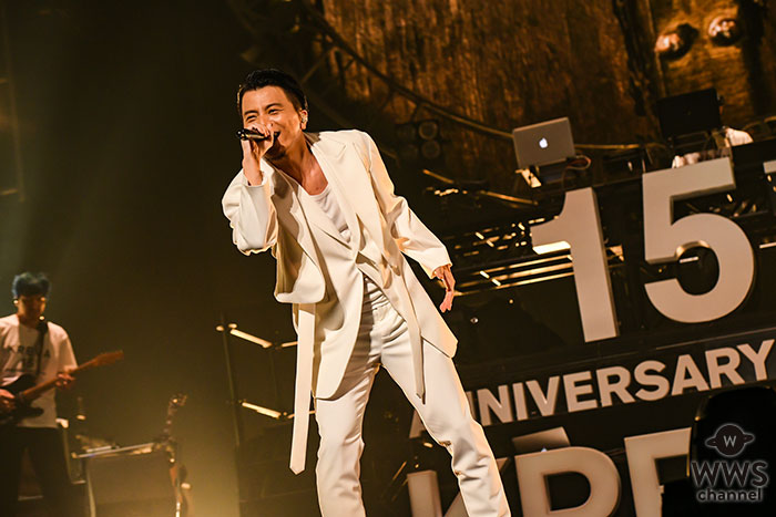 KREVA、ソロデビュー15周年記念ライブを日本武道館で開催!